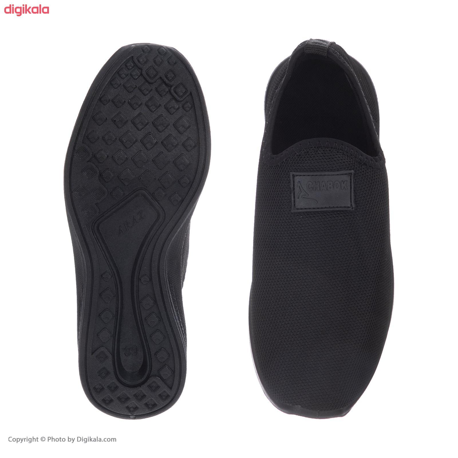 کفش راحتی چابک مدل رامش رنگ مشکی main 1 2