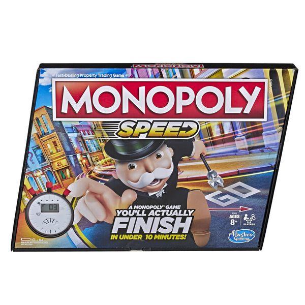 بازی فکری هاسبرو مدل Monopoly Speed