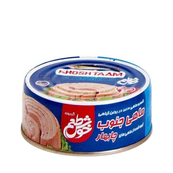 کنسرو ماهی تن در روغن خوش طعم - 180گرم