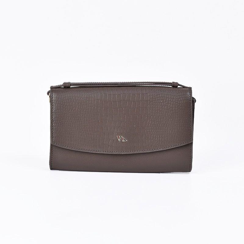 کیف دوشی زنانه چرم مشهد مدل s0749
