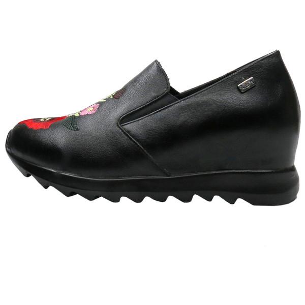 کفش روزمره زنانه آر اند دبلیو مدل 507 رنگ مشکی