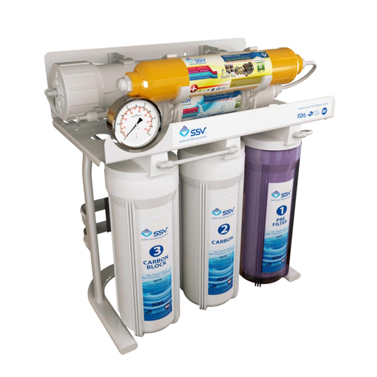 دستگاه تصفیه کننده آب اس اس وی مدل maxtec X600 به همراه فیلتر مجموعه 3 عددی و شارژر یدک مجموعه 2 عددی