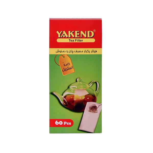 فیلتر چای و دمنوش یاکند کد 094 بسته 60 عددی