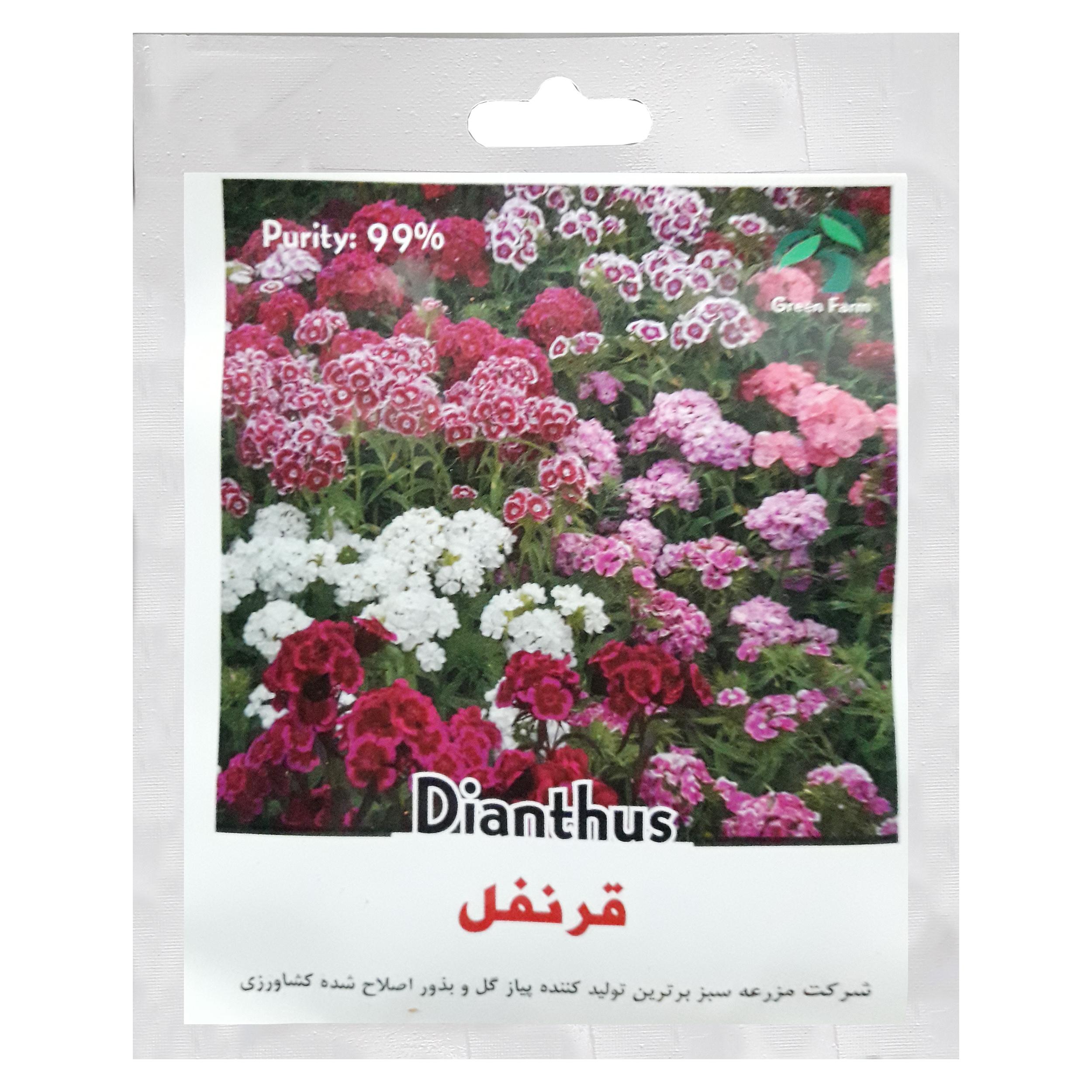 بذر گل قرنفل گرین فارم کد G 12