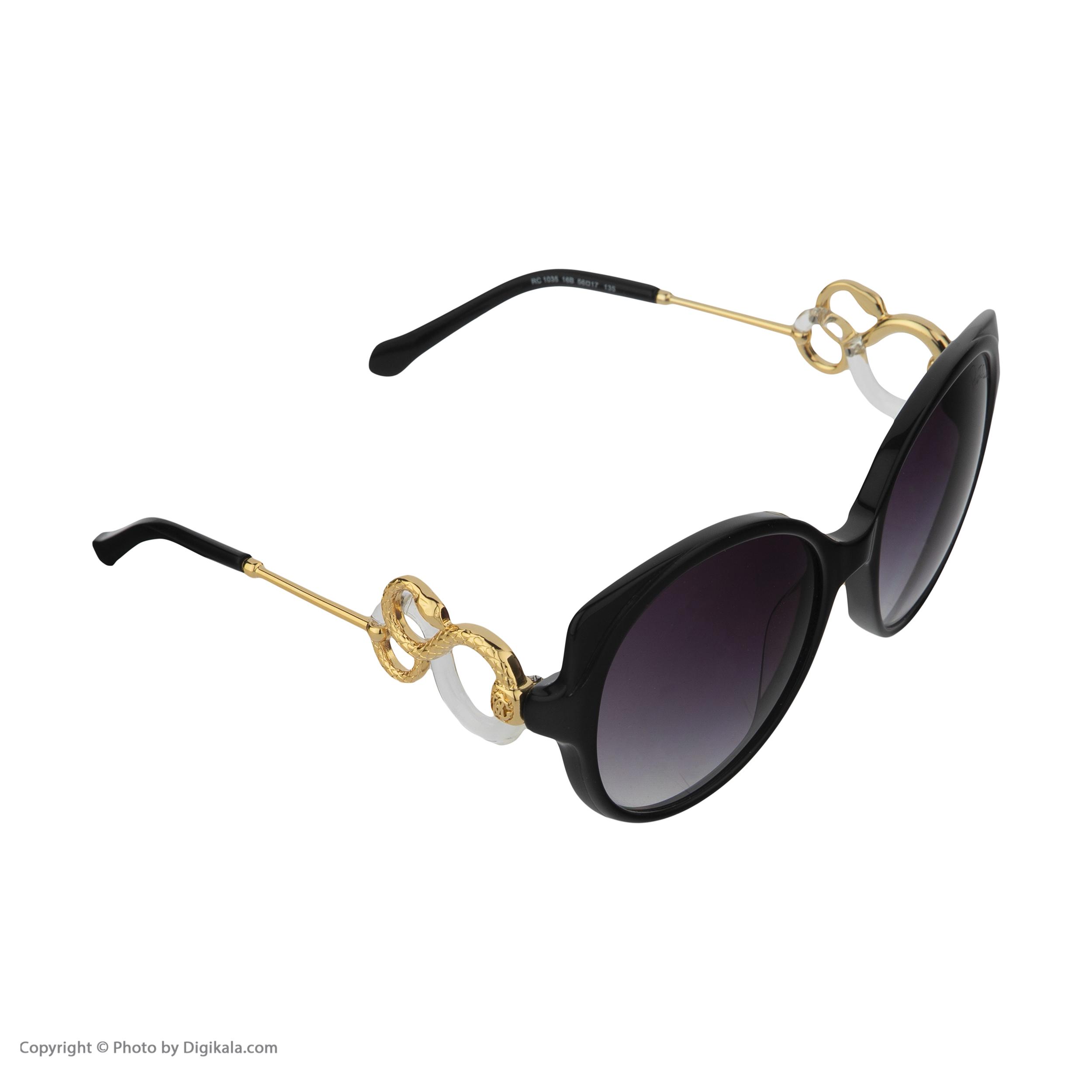 عینک آفتابی زنانه روبرتو کاوالی مدل 1035 -  - 3