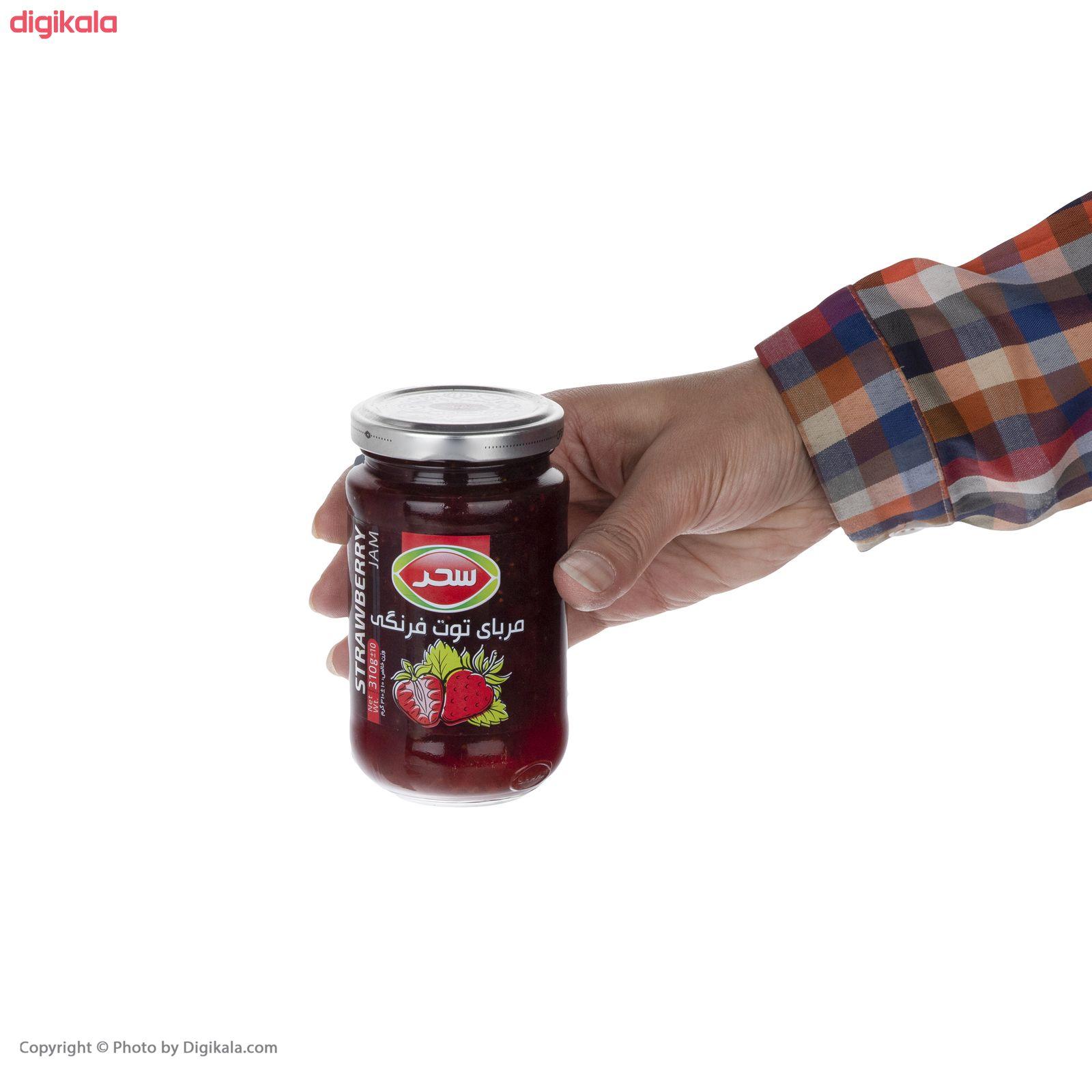 مربای توت فرنگی سحر - 310 گرم  main 1 2