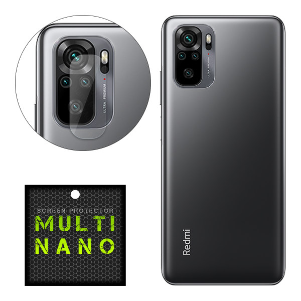 محافظ لنز دوربین مولتی نانو مدل Pro مناسب برای گوشی موبایل شیائومی Redmi Note 10