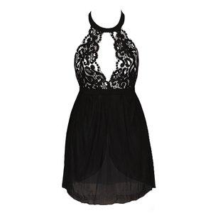 لباس خواب زنانه کد 5104 رنگ مشکی