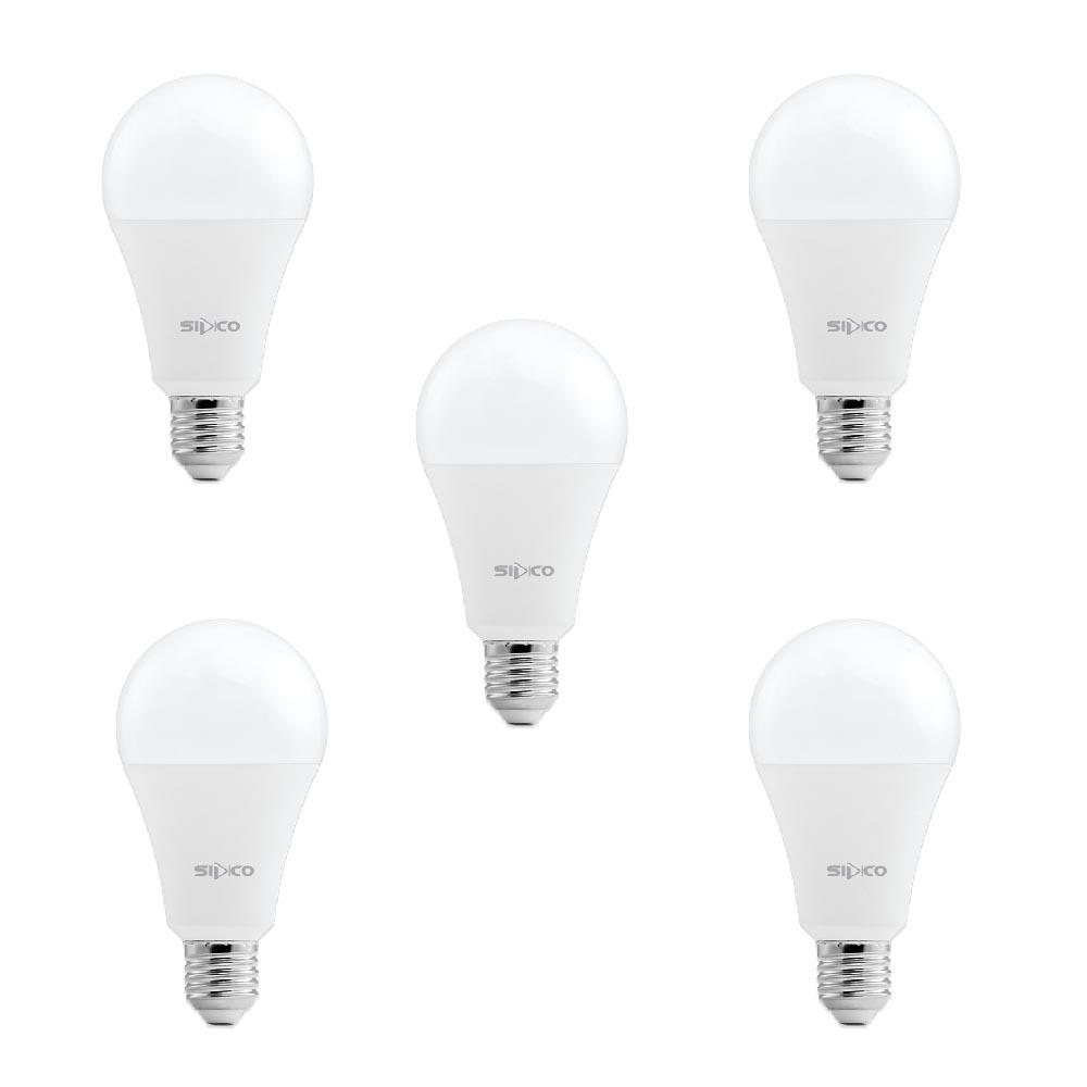 لامپ 18 وات سیدکو مدل SLP18 پایه E27 بسته 5 عددی