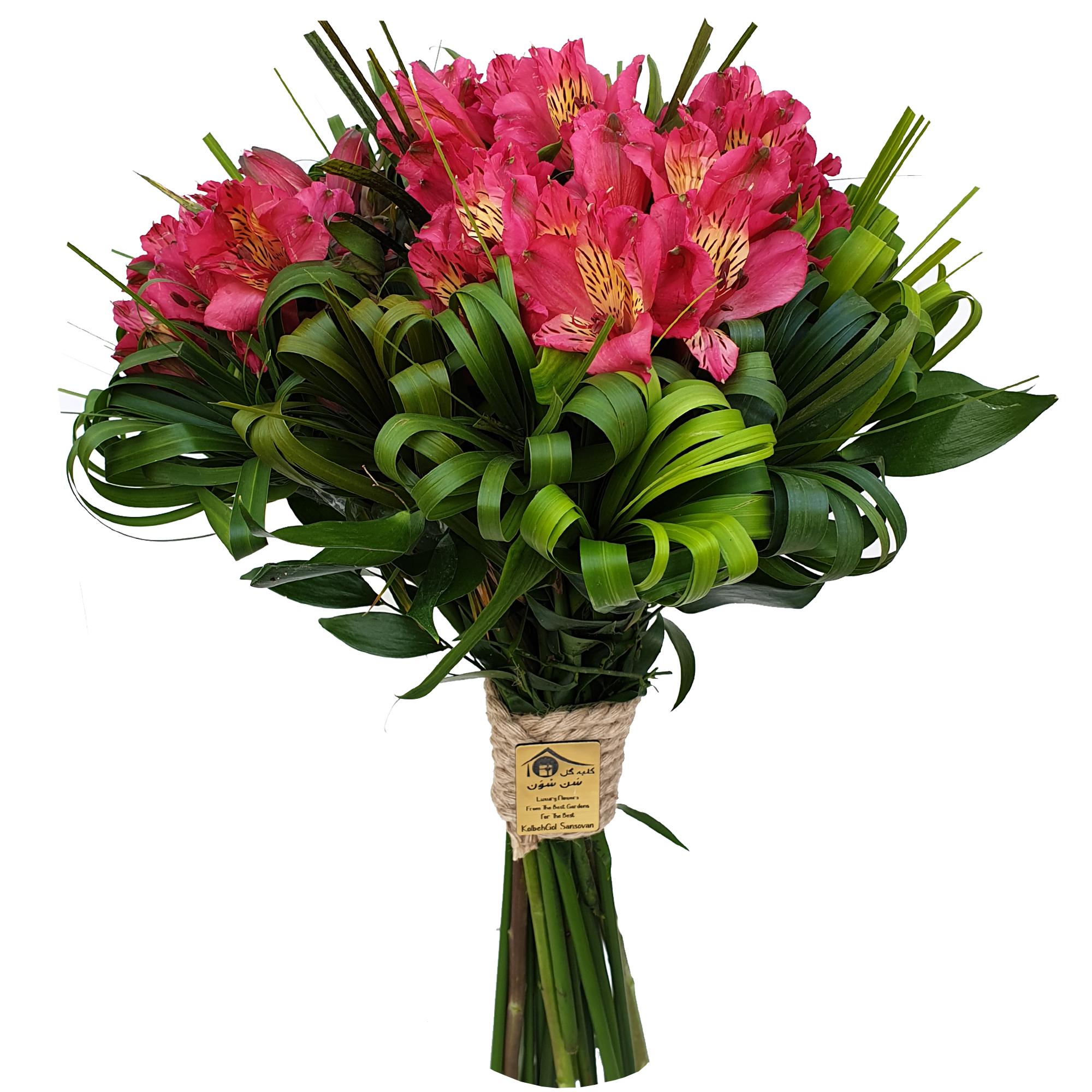 دسته گل کلبه گل سن سون مدل DG-11014