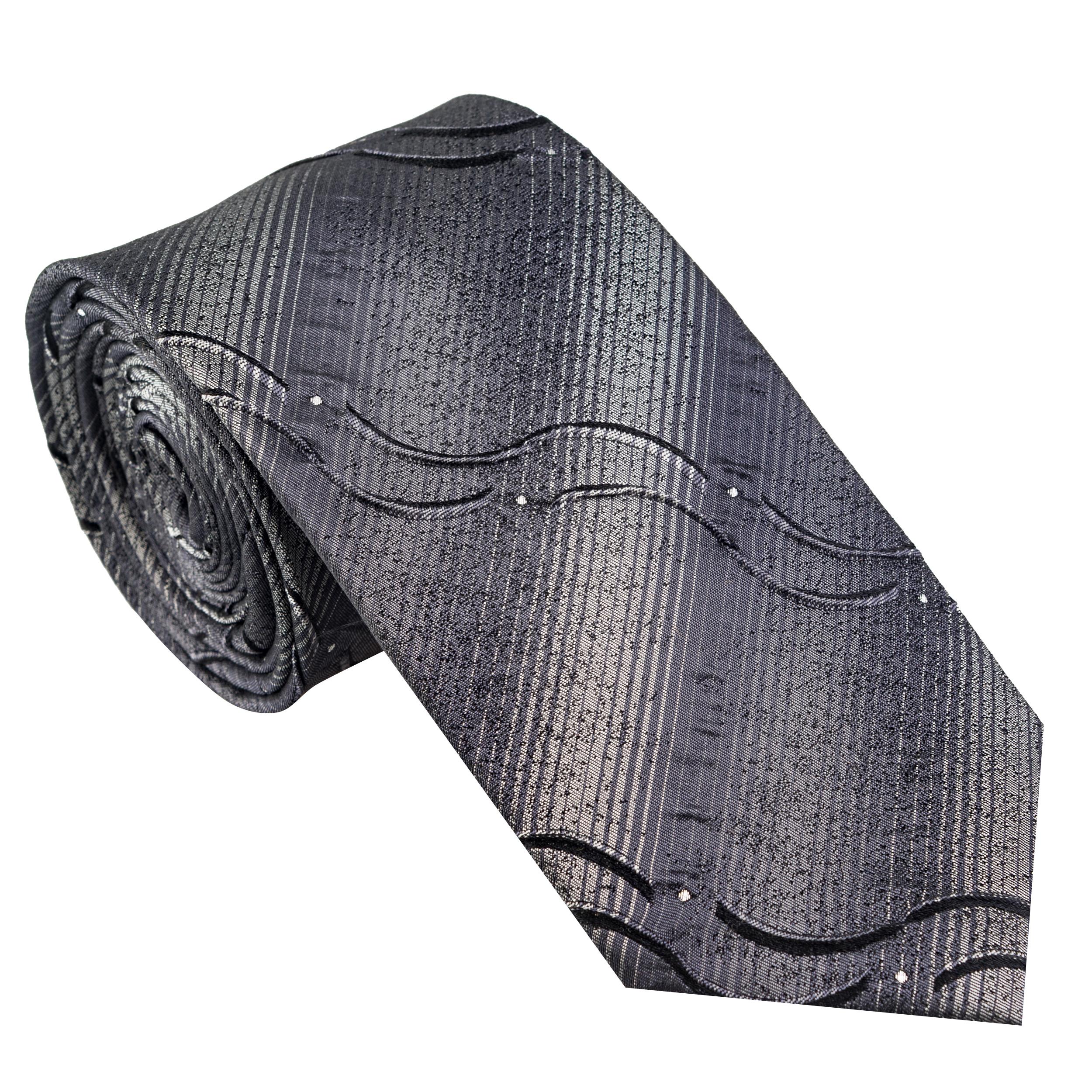 کراوات مردانه جیان فرانکو روسی مدل GF-CA517-GR