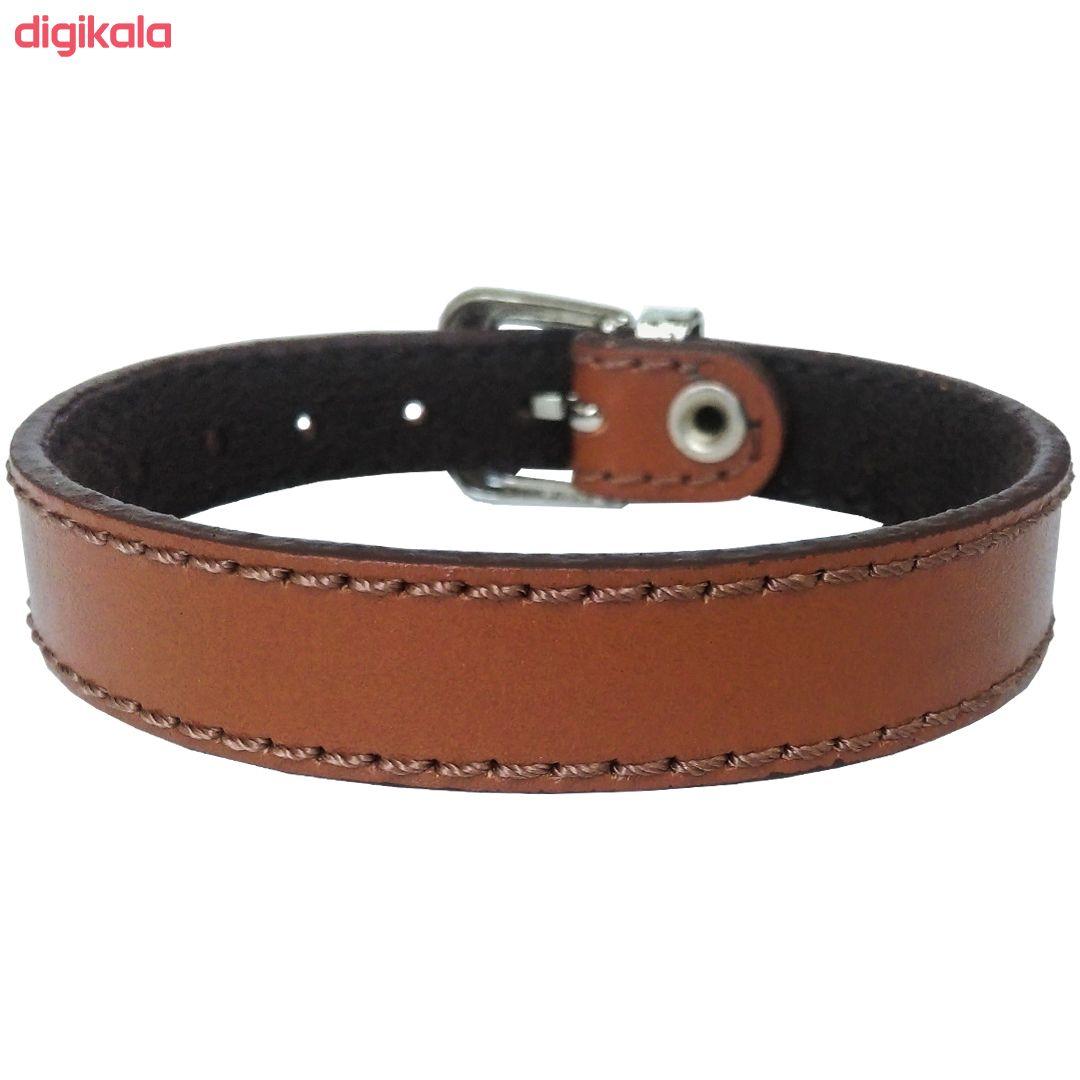 دستبند چرم وارک مدل پرهام کد rb201 main 1 9