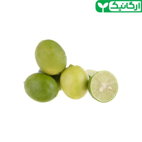 ليمو ترش شيرازي ارگانیک رضواني - 500 گرم