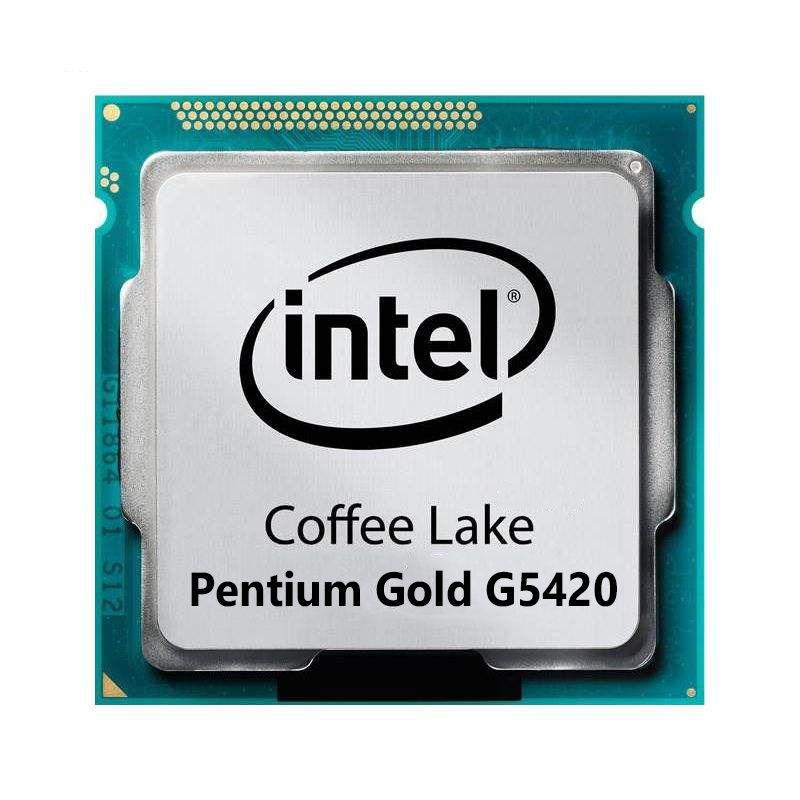 پردازنده اینتل سری Coffee Lake مدل Pentium Gold G5420 Tray تری