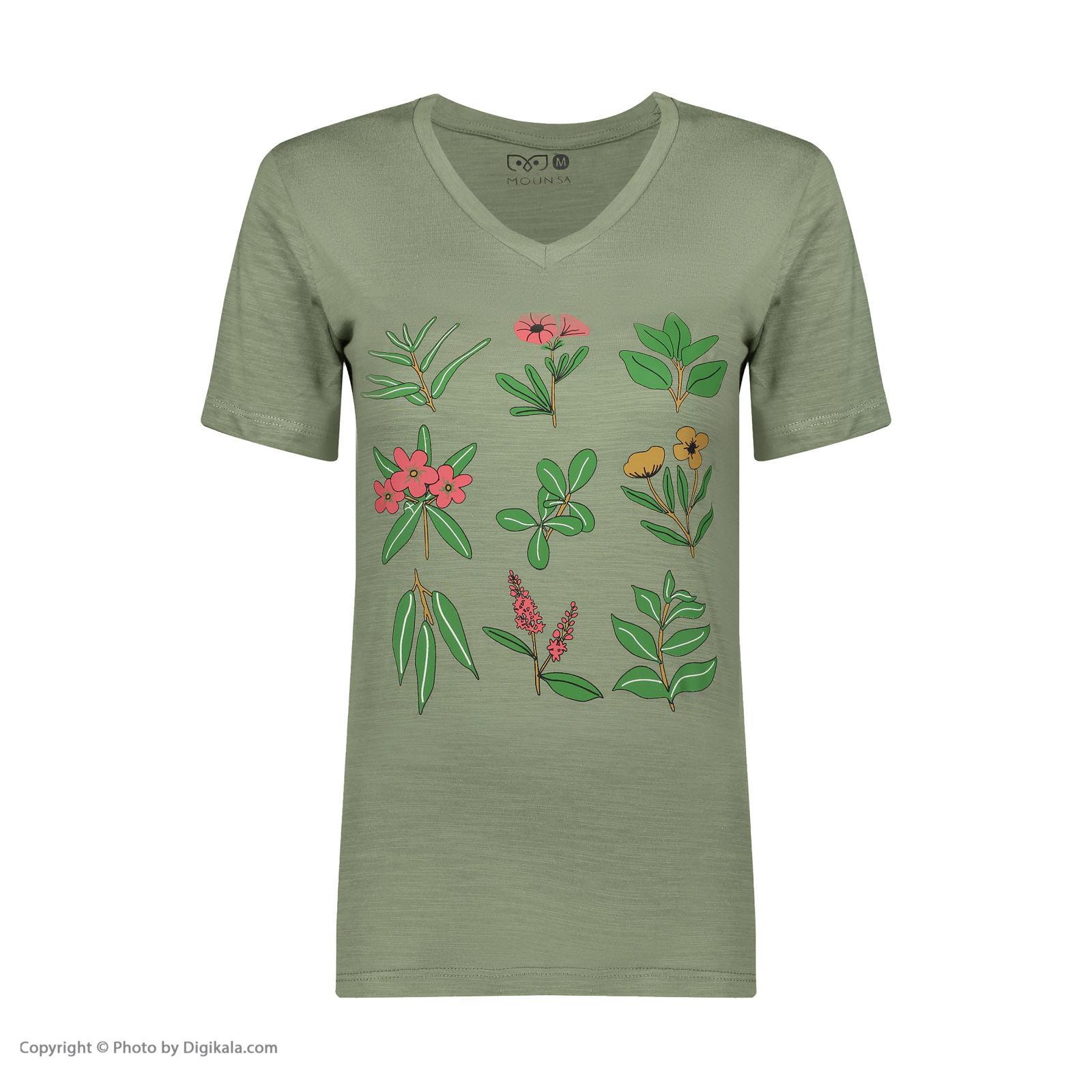 تی شرت زنانه مون مدل 1631175