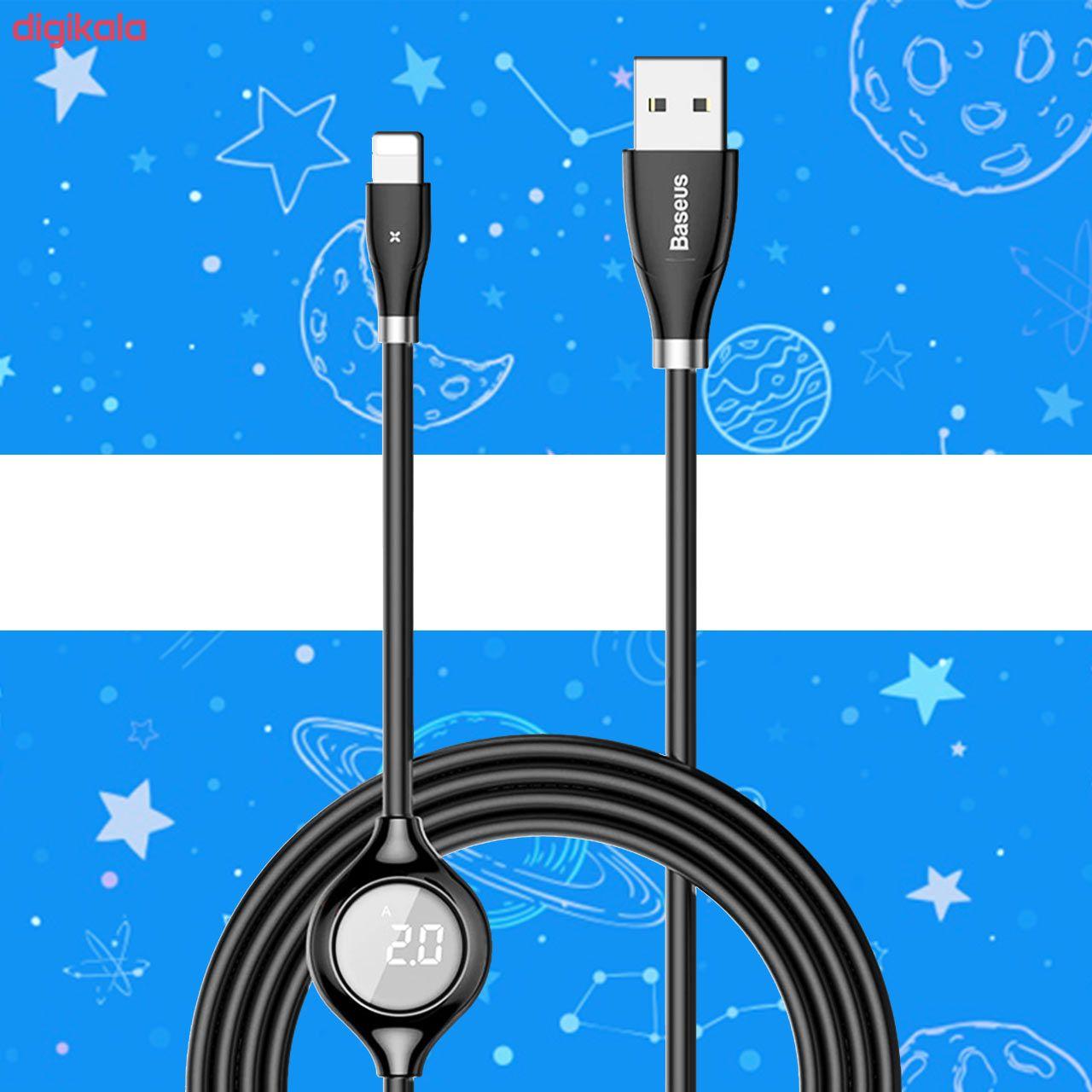 کابل تبدیل USB به لایتنینگ باسئوس مدل CALEYE طول 1.2 متر main 1 4
