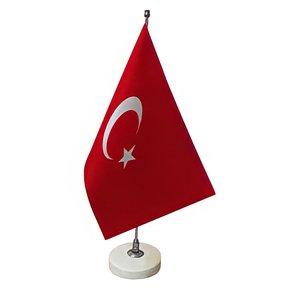 پرچم رومیزی طرح ترکیه کد 1307