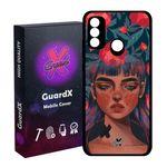 کاور گارد ایکس طرح Girl مدل Glass10334 مناسب برای گوشی موبایل هوآوی P Smart 2020