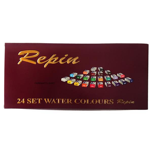 آبرنگ 24 رنگ رپین کد 101086-Gummy