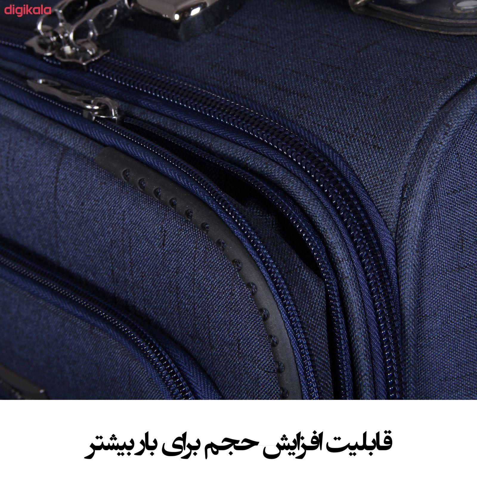 مجموعه سه عددی چمدان کد 2301A main 1 14