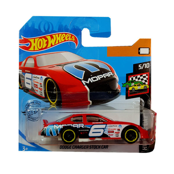 ماشین بازی هات ویلز مدل dodge charger stoock car