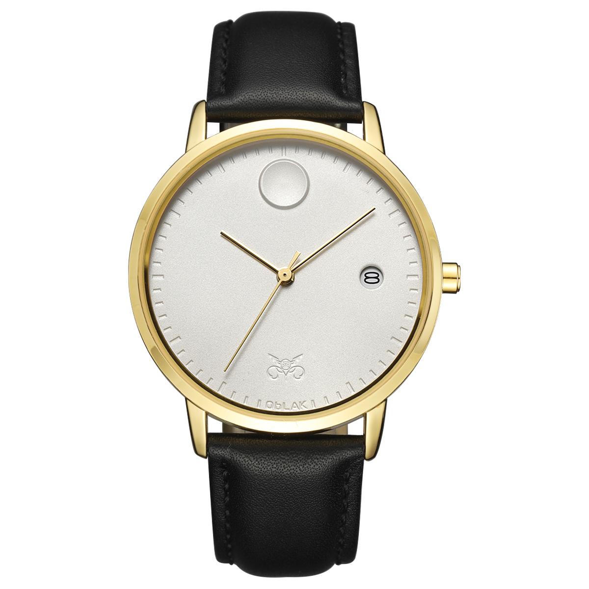 قیمت                      ساعت مچی عقربه ای مردانه اوبلاک مدل 72696
