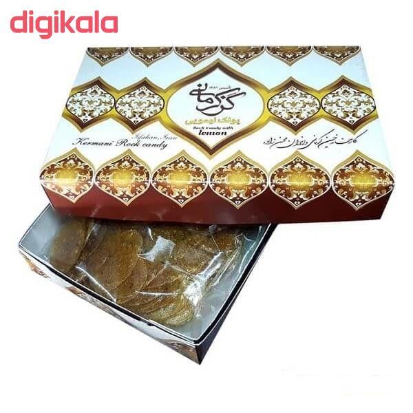 پولکی لیمویی گز کرمانی - 450 گرم main 1 1