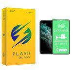 محافظ صفحه نمایش فلش مدل +HD مناسب برای گوشی موبایل اپل iphone11 Pro