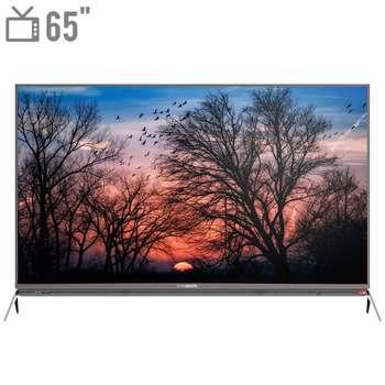 تصویر تلویزیون ال ای دی هوشمند ایکس ویژن مدل 65XKU635 سایز 65 اینچ X.Vision 65XKU635 Smart LED TV 65 Inch