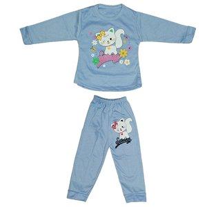 ست تی شرت و شلوار نوزادی دخترانه کد 8888BAN