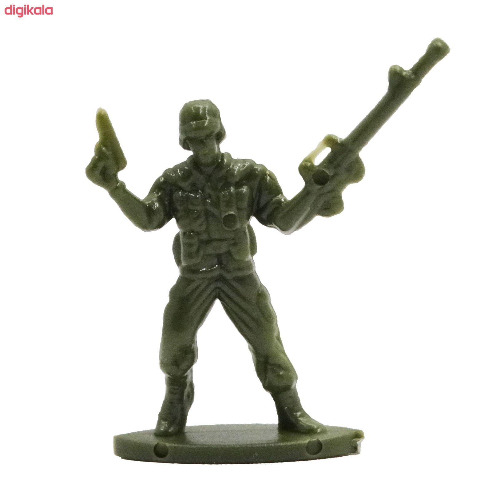 اسباب بازی جنگی مدل پادگان مجموعه 23 عددی main 1 1