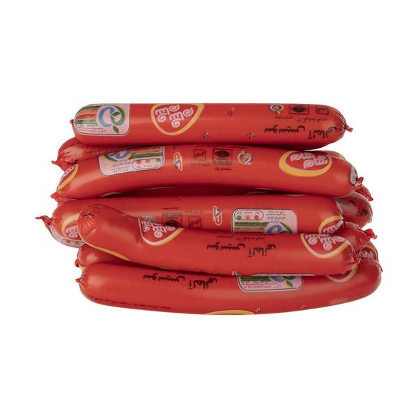 سوسیس آلمانی 40 درصد گوشت قرمز شام شام - 1 کیلوگرم