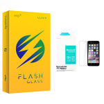 محافظ صفحه نمایش شیشه ای فلش مدل +HD مناسب برای گوشی موبایل اپل iphone 7