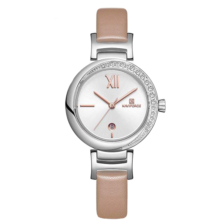 ساعت مچی عقربه ای زنانه نیوی فورس مدل NF5007 - KE-NO              خرید (⭐️⭐️⭐️)