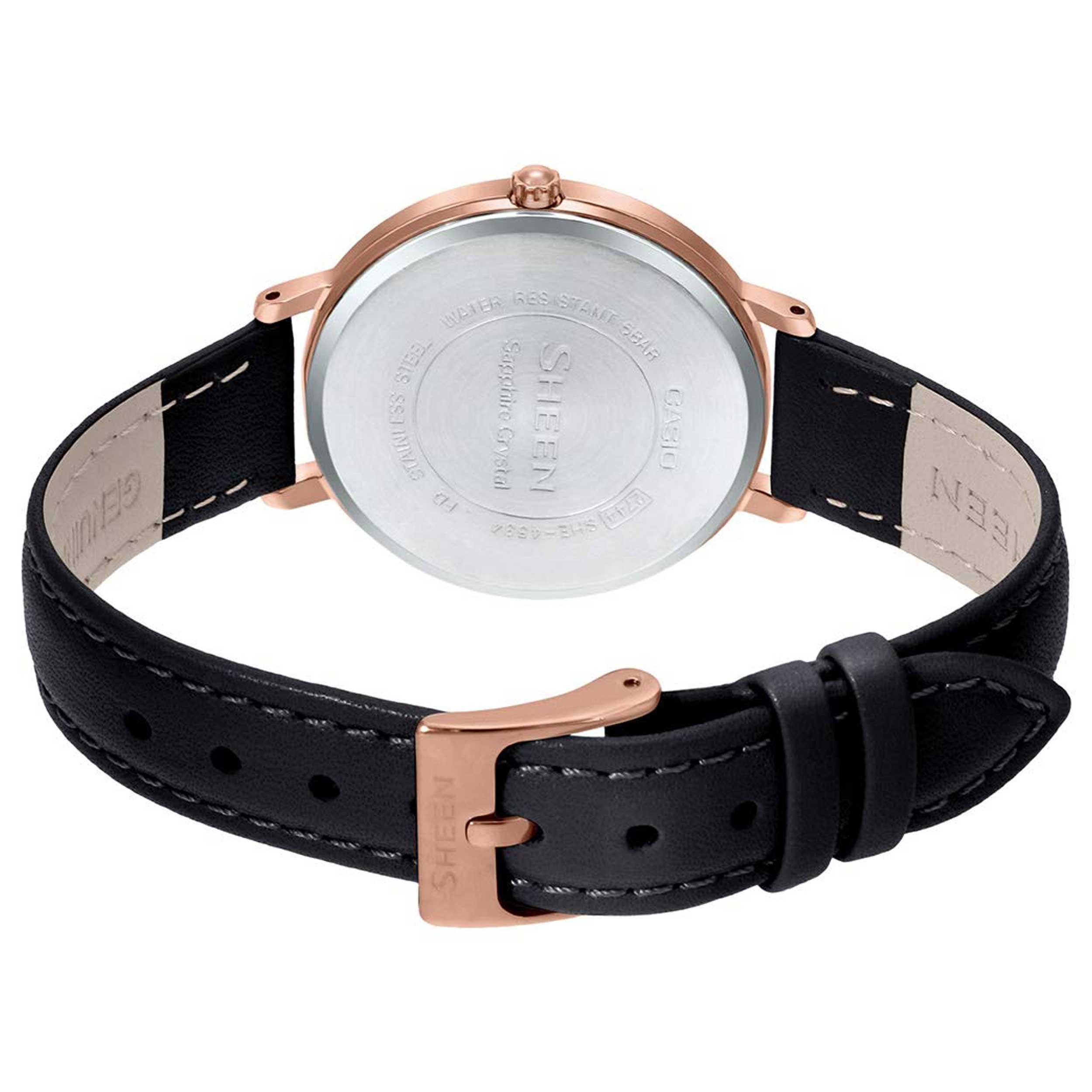ساعت مچی  کاسیو مدل SHE-4534PGL-1AUDF