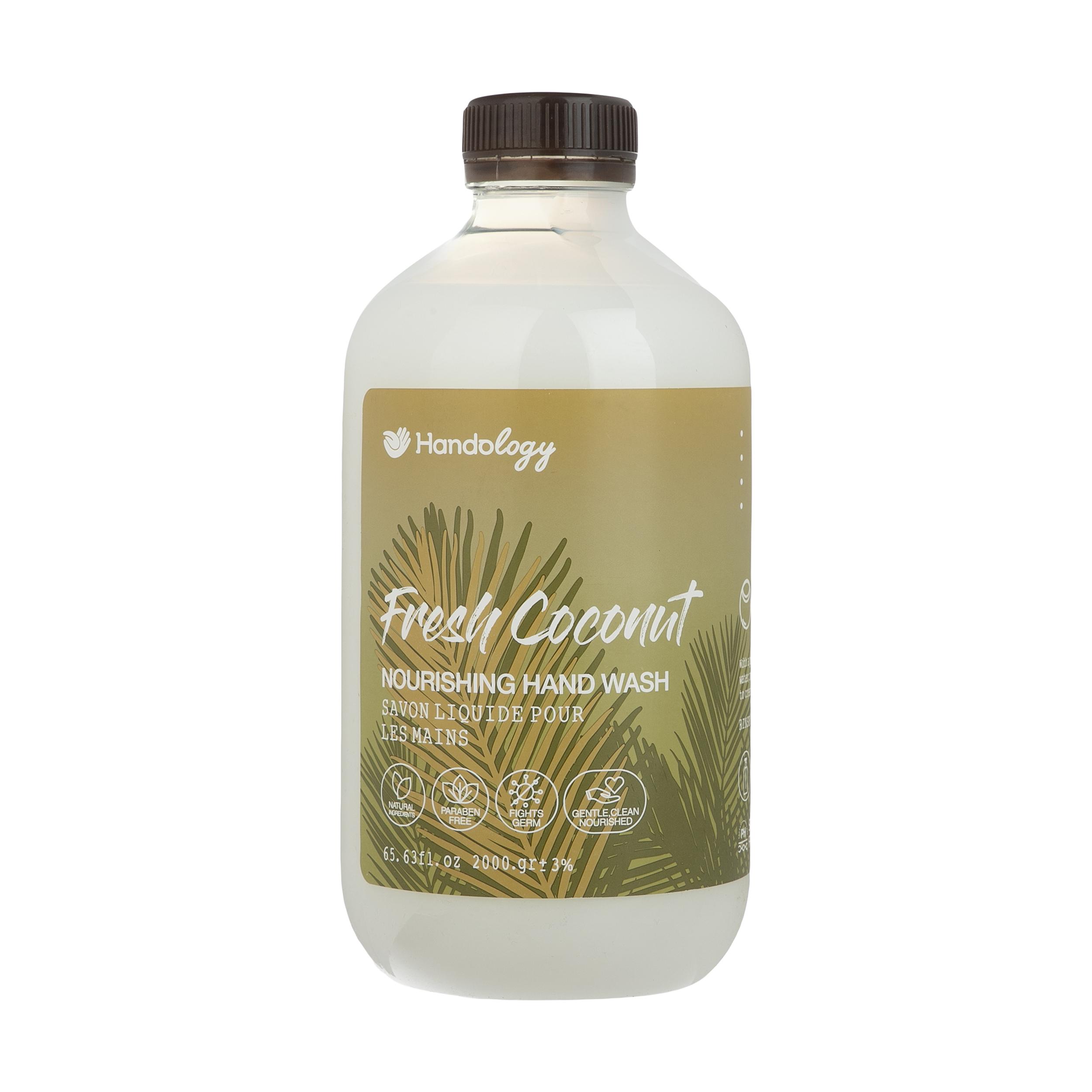 مایع دستشویی هندولوژی مدل Fresh Coconut مقدار 2 کیلوگرم