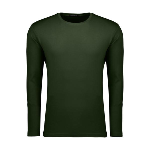 تیشرت آستین بلند مردانه ادورا مدل 26915033 رنگ سبز