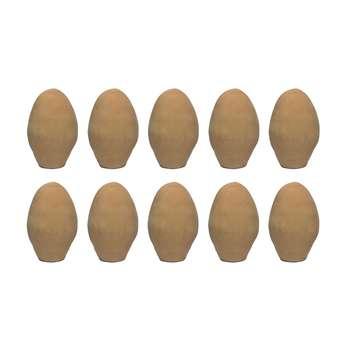 تخم مرغ سفالی مدل A10 بسته 10 عددی