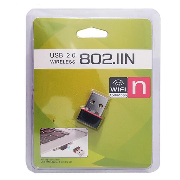 کارت شبکه بی سیم USB مدل 802.11N