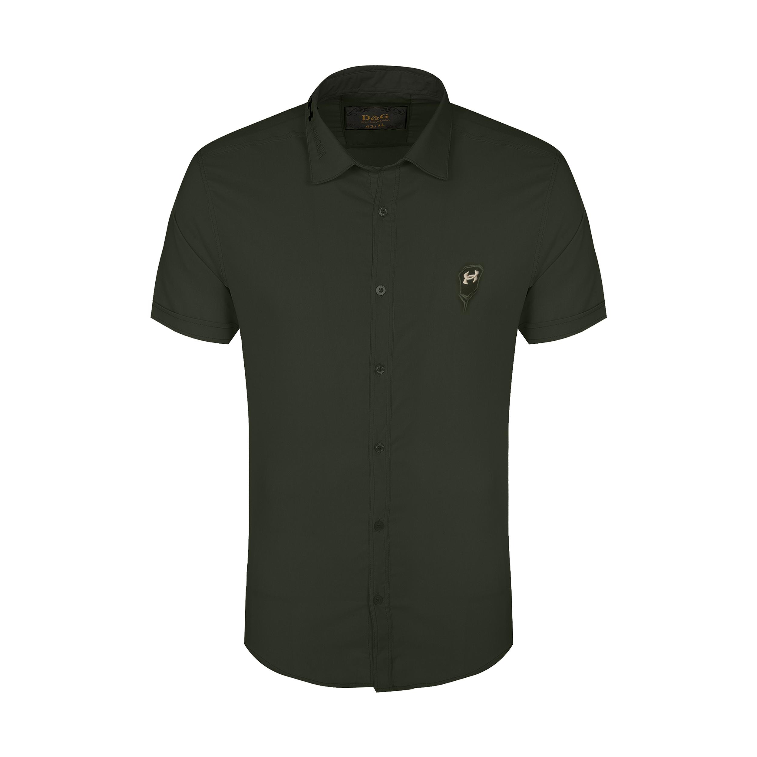 پیراهن آستین  کوتاه مردانه مدل 344006123                     غیر اصل