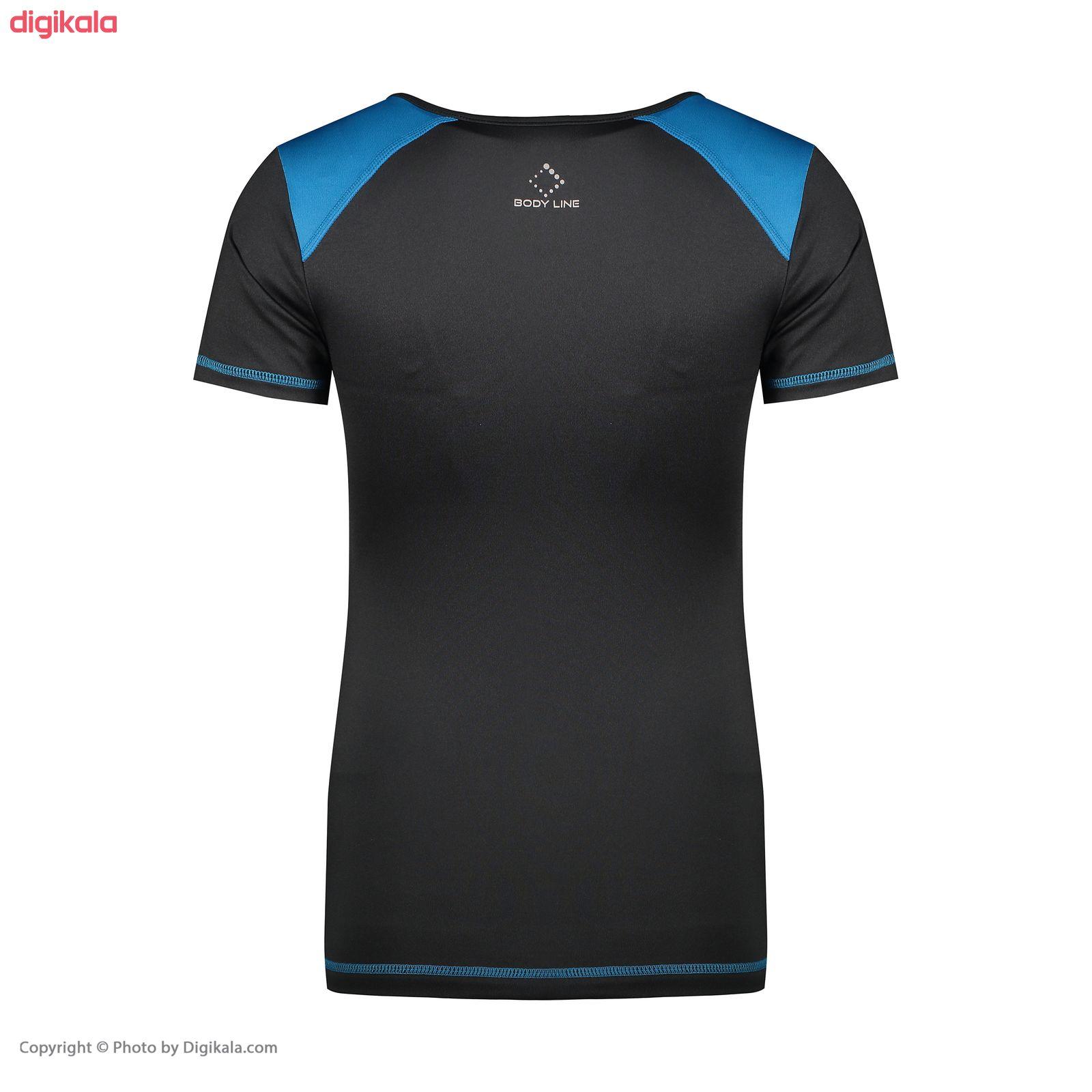 تی شرت ورزشی زنانه  کد k200 main 1 2