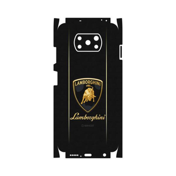 برچسب پوششی ماهوت مدل Lamborghini-FullSkin مناسب برای گوشی موبایل شیائومی Poco X3 NFC