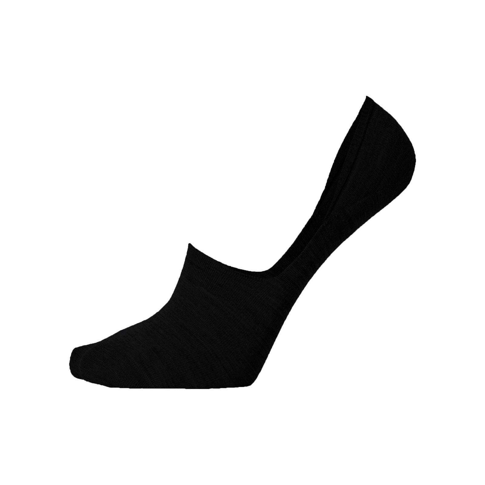 جوراب زنانه مستر جوراب کد BL-MRM 254 بسته 6 عددی -  - 3