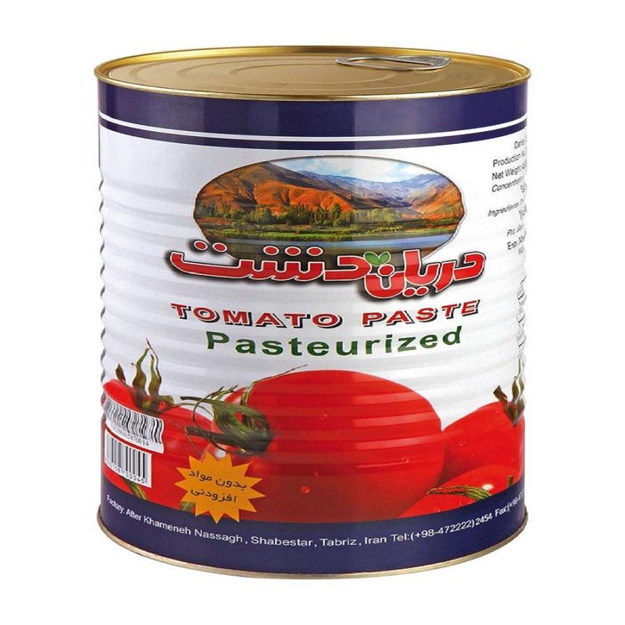رب گوجه فرنگی دریان دشت - 4500 گرم