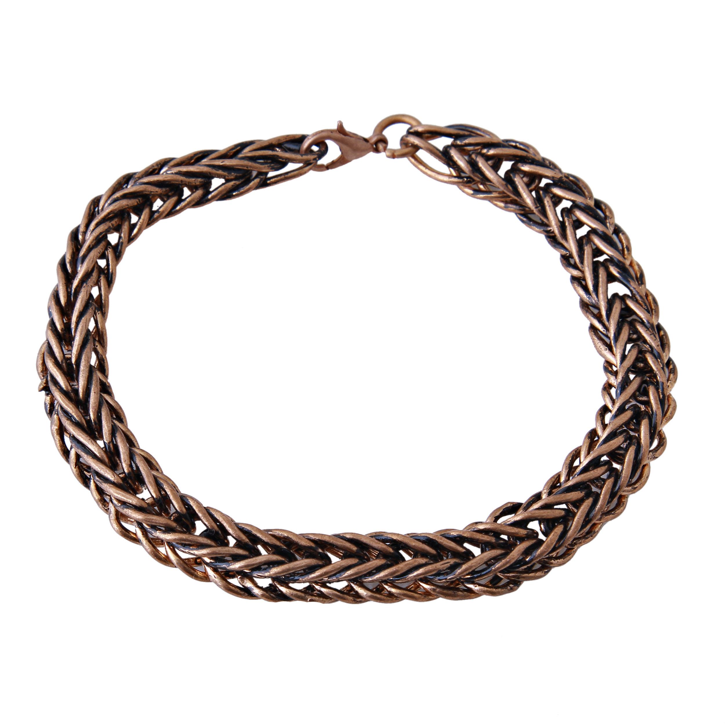 دستبند مردانه بازرگانی میلادی کد DP_189