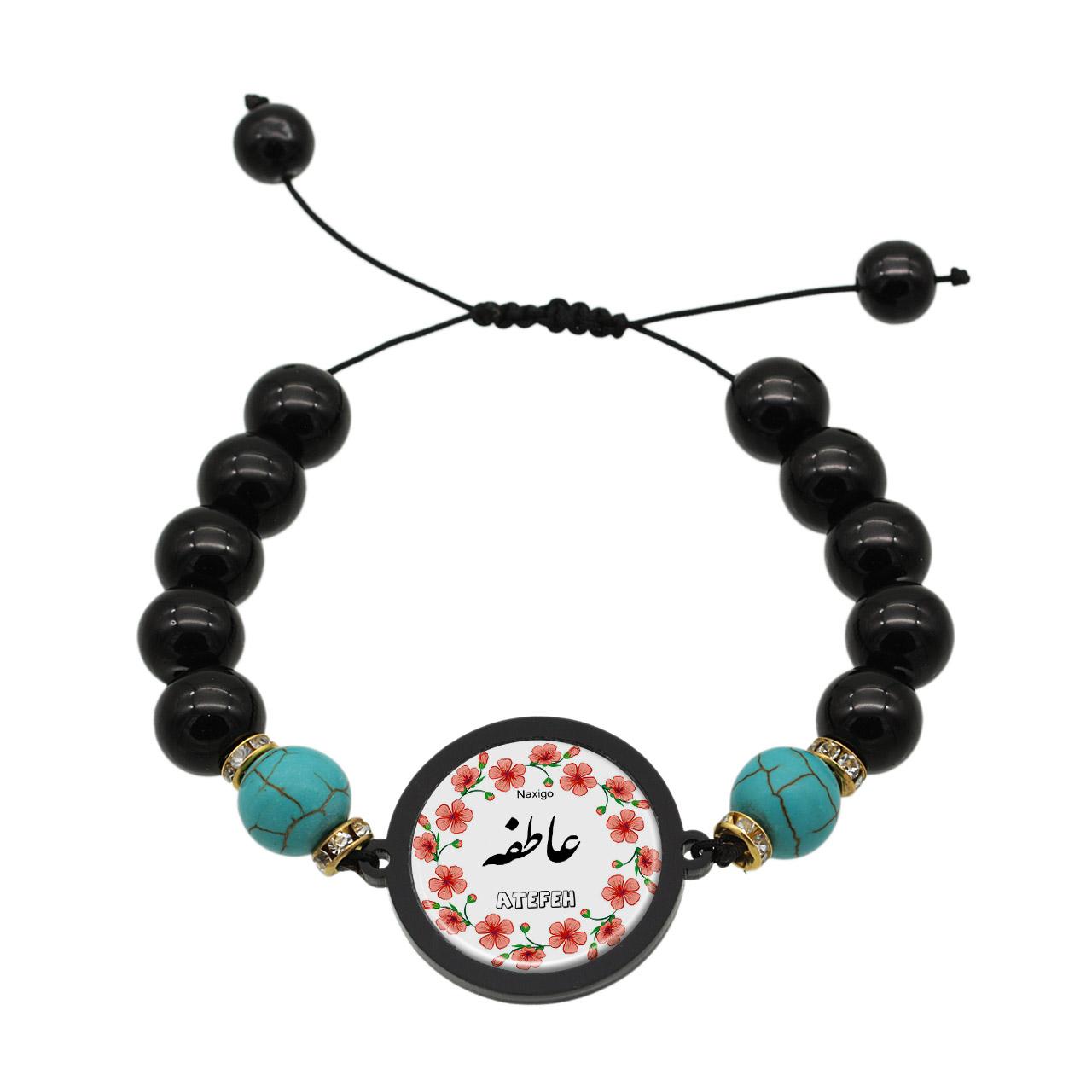 دستبند زنانه ناکسیگو طرح عاطفه کد BR4156