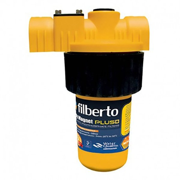 فیلتر رسوب گیر پکیج و آبگرم کن فیلبرتو مدل poly magnet