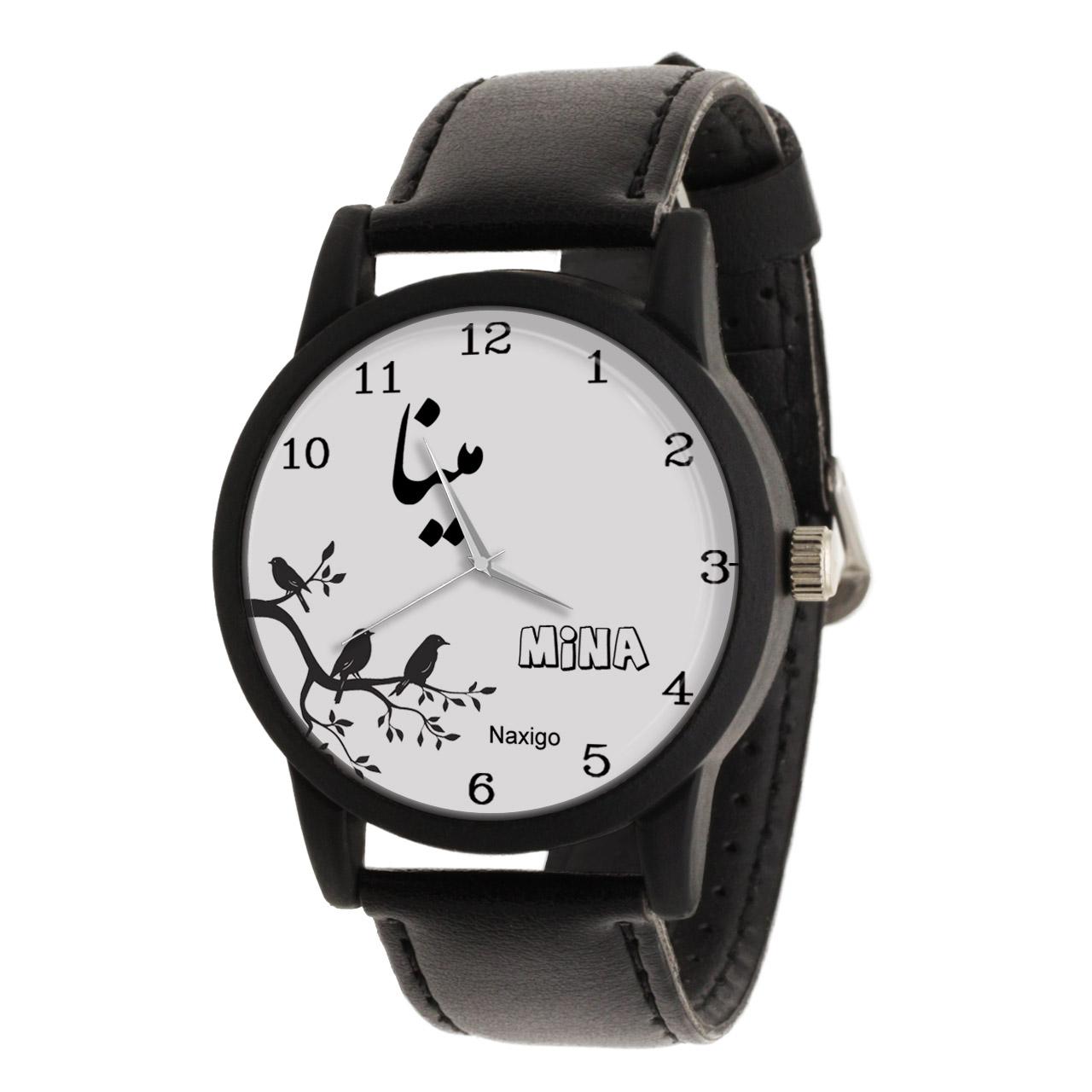 خرید و قیمت                      ساعت مچی  زنانه ناکسیگو طرح مینا کد LF3396