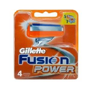 تیغ یدک ژیلت مدل Fusion Power بسته 4 عددی