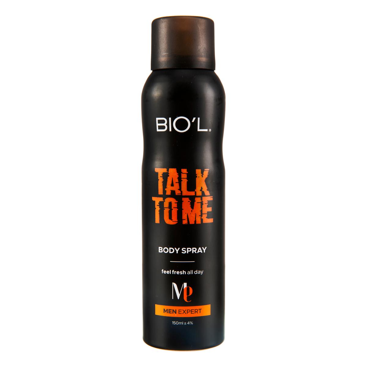اسپری خوشبو کننده بدن مردانه بیول مدل TALK TO ME حجم 150 میلی لیتر